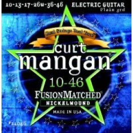 Curt Mangan 10-46 Fusion Matched Nickelwound