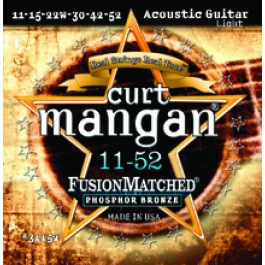 Curt Mangan 11-52 Fusion Matched Phosphor Bronze
