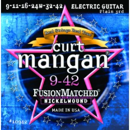 Curt Mangan 9-42 Fusion Matched Nickelwound