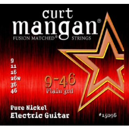 Curt Mangan Pure Nickel 9-46