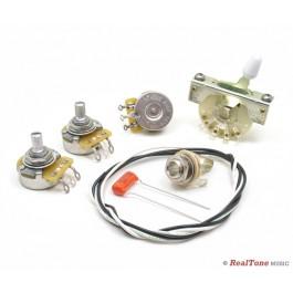 wiring upgrade kit for strat strat style wiring kits. Black Bedroom Furniture Sets. Home Design Ideas