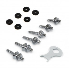 LOXX Screw Set - Chrome