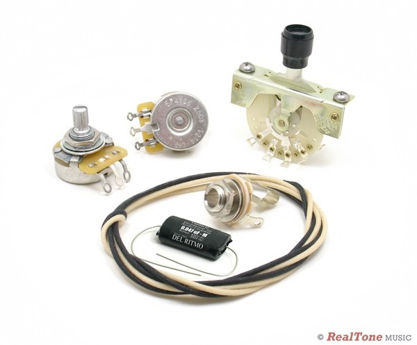 deluxe wiring upgrade kit for telecaster tele style wiring kits. Black Bedroom Furniture Sets. Home Design Ideas