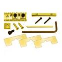 "Gotoh FGR-2 1-5/8"" Locking Nut Assembly - Gold"