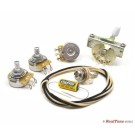 Premium Wiring Upgrade Kit for Strat Guitars - Left Hand